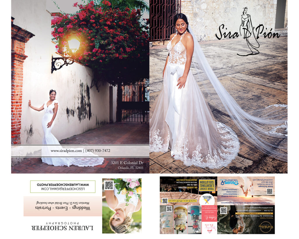Folders Promote Your Bridal Business Today